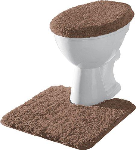 Erwin Müller 2-tlg. Stand-WC-Set braun
