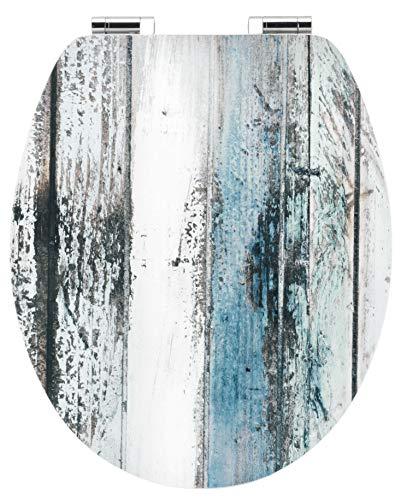 "Cornat WC-Sitz Art of Acryl ""Wooden"" - Elegante Acryl-Oberfläche - Hochwertiger Holzkern - Absenkautomatik & Schnellbefestigung - Komfortables Sitzgefühl / Toilettensitz / Klodeckel / KSDSC308"