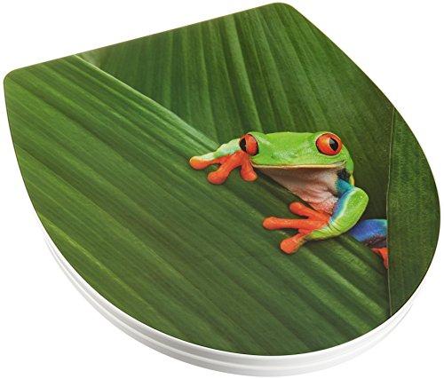 Wenko WC-Sitz, Acryl, Bunt 45.5 x 38.8 x 5 cm