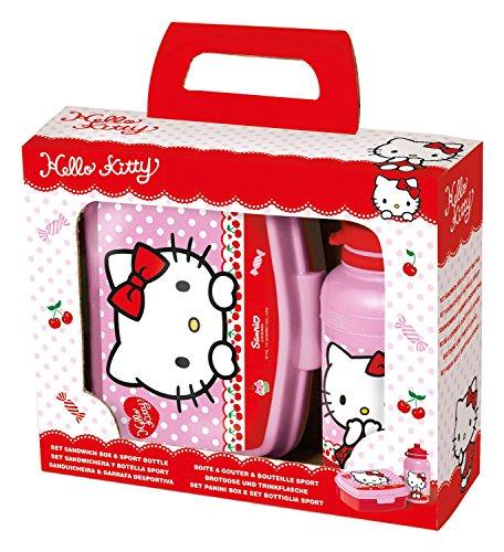 p:os 24322 Hello Kitty Pausenset, 2 teiliges Set im Geschenkkarton