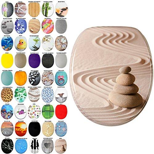 WC Sitz, viele schöne WC Sitze zur Auswahl, hochwertige und stabile Qualität aus Holz (Zen)