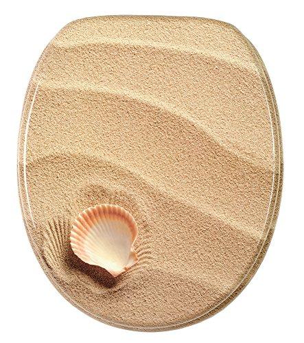 WC Sitz, hochwertige Oberfläche, einfache Montage, stabile Scharniere, Clam